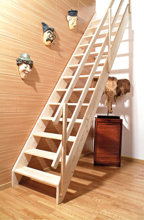 une ancienne technique d escalier la mode l chelle. Black Bedroom Furniture Sets. Home Design Ideas